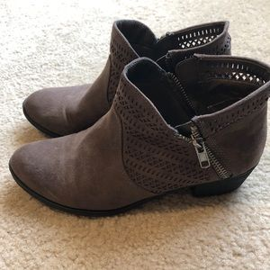 EUC American Rag brown ankle boots